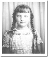 Letha Dawson Scanzoni as a child