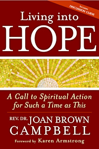 Living Into Hope book cover