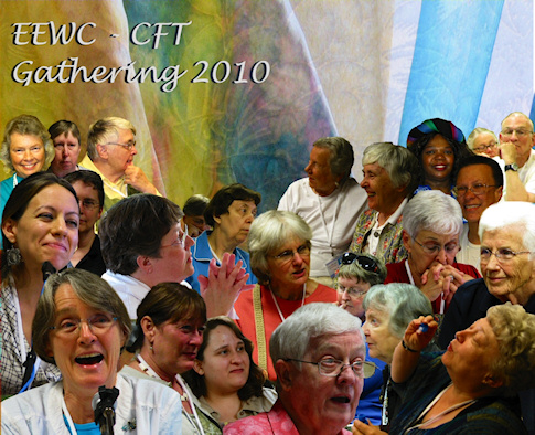 The 2010 Gathering Collage - by Marg Herder