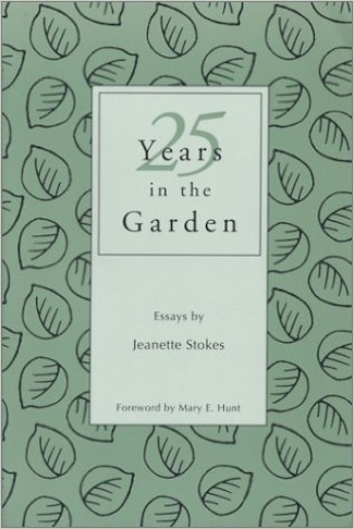 25 Years In The Garden book cover