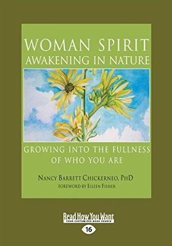 Woman Spirit Awakening in Nature book cover