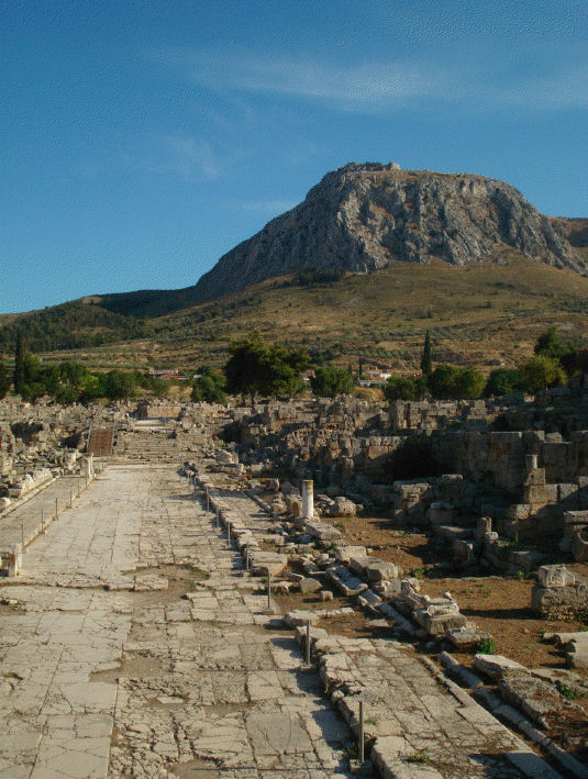 Ruins of a Temple to Demeter