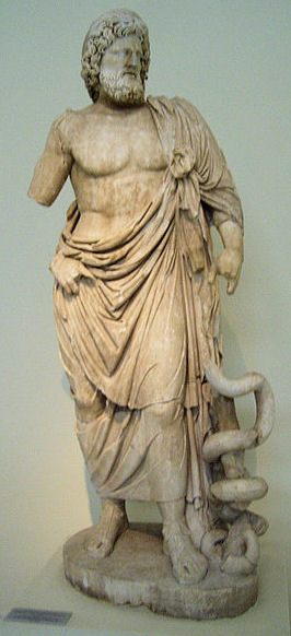 Asklepios, god of healing