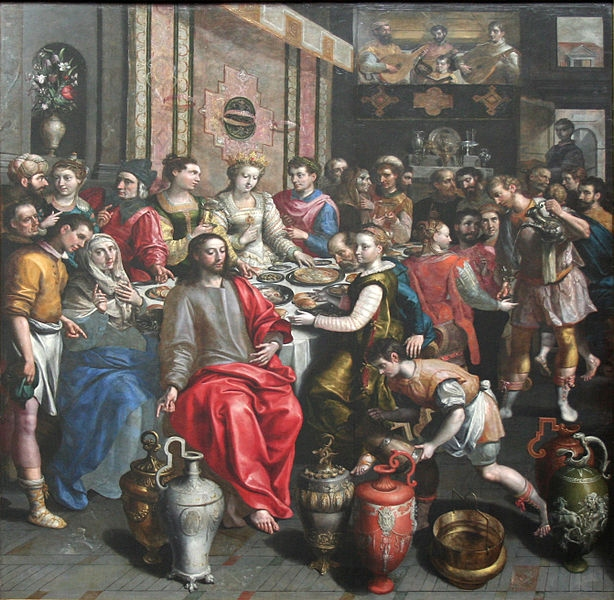 """Marriage at Cana"" Painting"