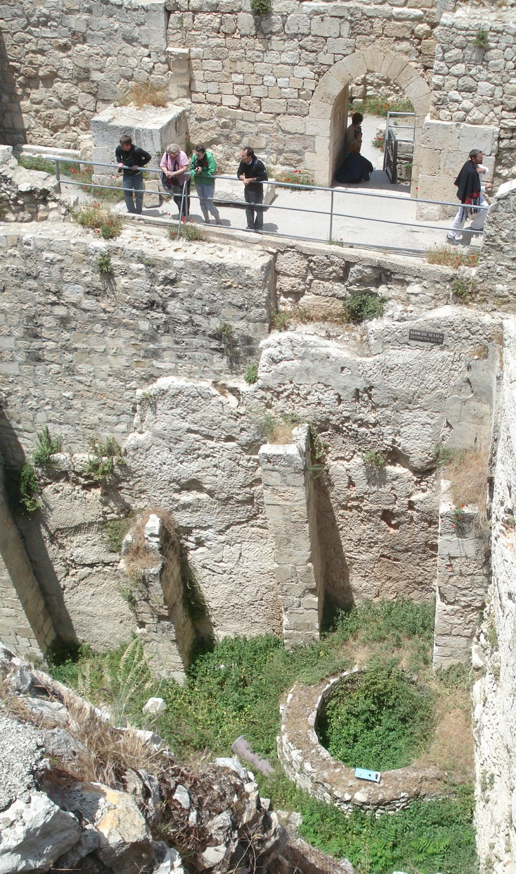 Excavation of the Pool of Bethesda