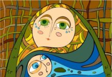 Mother and Child Abstract