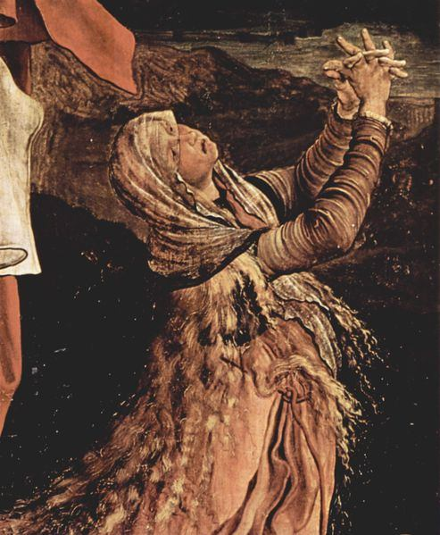 Maria Magdalena by Mathis Gothart Grünewald, painted between 1512 and 1516