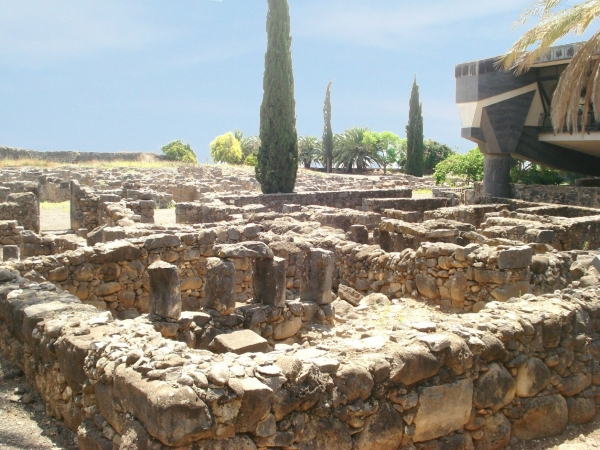 Ruins of ancient Capernaum