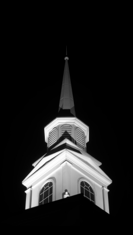 Steeple at Night