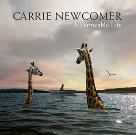 A Permeable Life by Carrie Newcomer - CD Cover