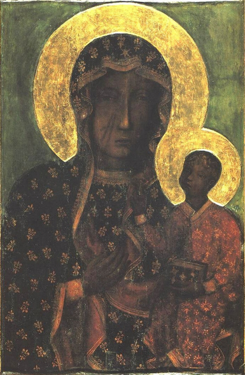 The Black Madonna of Częstochowa, Poland