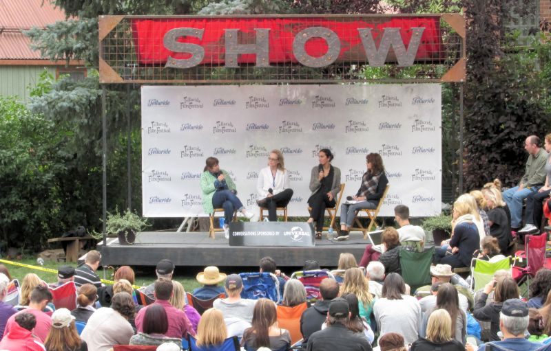 Panel Discussion for Suffragette at Premier the Telluride Film Festival