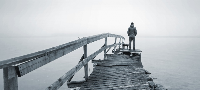 Person on a Pier