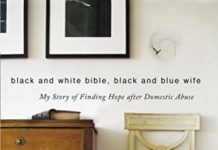 Black and White Bible, Black and Blue Wife Book Cover