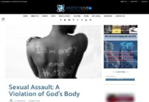 Sexual Assault Article screenshot