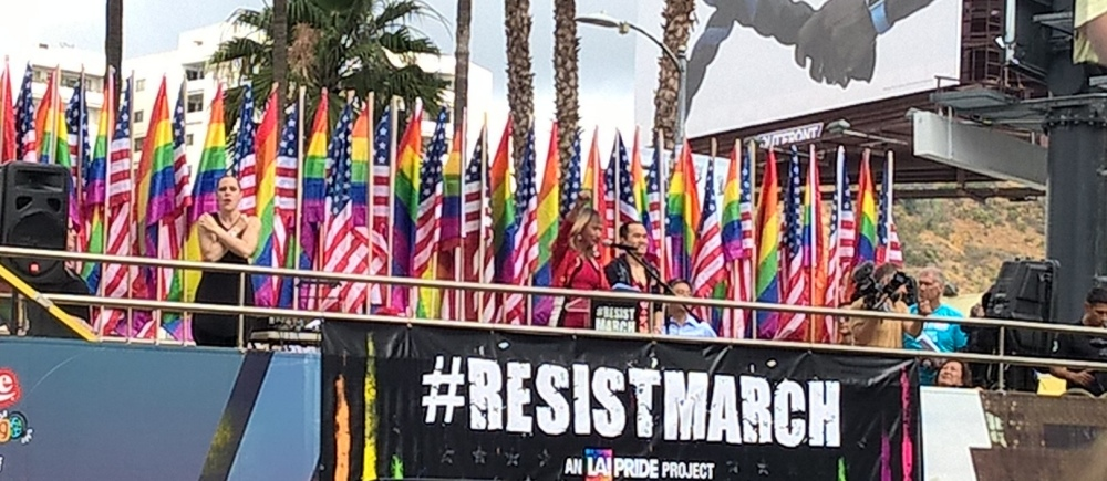 ResistMarch Photo by Anne Linstatter