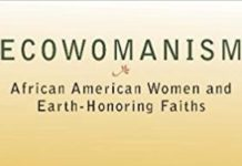 Ecowomanism Book Cover Detail
