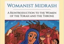 Womanist Midrash Book Cover Detail