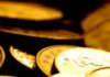 Close up of Gold Coins