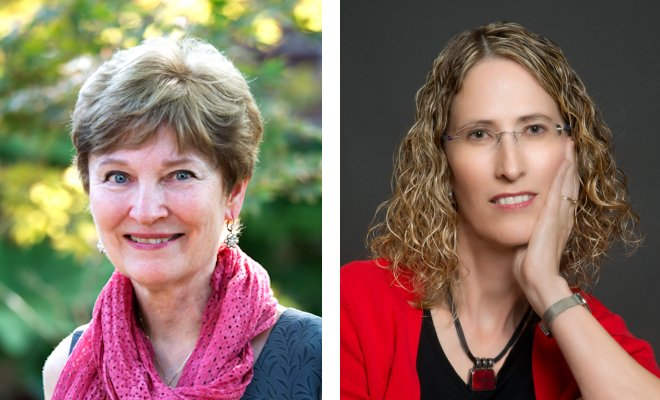 Rev. Dr. Jann Aldredge-Clanton and Dr. Kendra Weddle