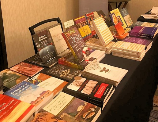 Bookstore at the gathering.