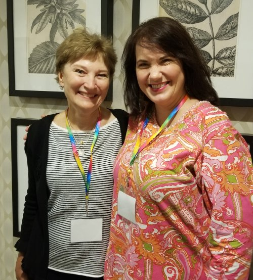 Jann Aldredge-Clanton and Janene Cates Putman at the 2018 Gathering