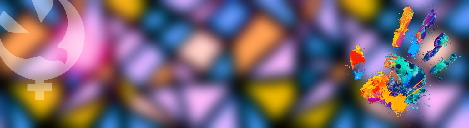 Stained Glass Window Abstract