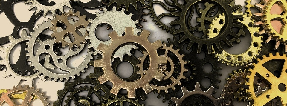 GLS Leaders -- Cogs in a bigger machine? -- Image by dawnydawny -- CC0 License -- from Pixelbay