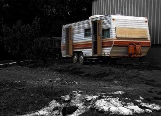 Small Old Camper