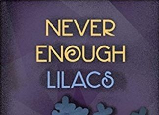 Never Enough Lilacs book cover detail
