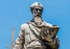 Saint Paul Statue in front of the Castel Sant'angelo in Rome