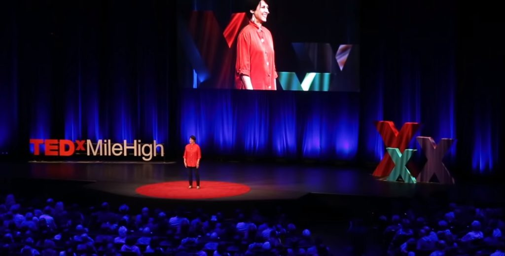 Susan Cottrell presents her TEDx talk in December 2018