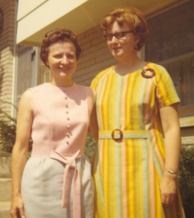 Letha Dawson Scanzoni and Nancy Hardesty, authors of the Christian feminist book, All We're Meant to Be, pictured in the 1970s