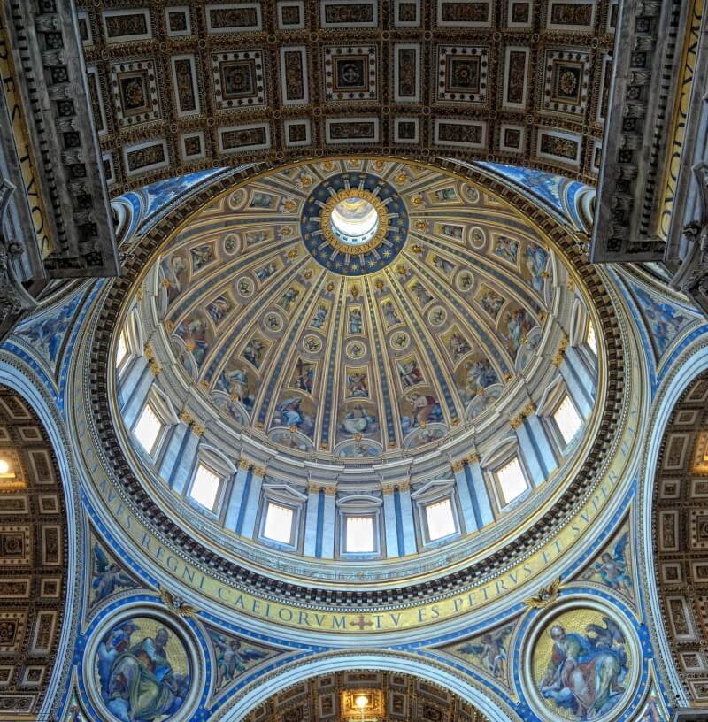Ceiling of St. Peter's