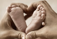 Fathers Day - Hands with Baby Feet