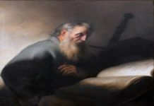 Oil Painting of St. Paul