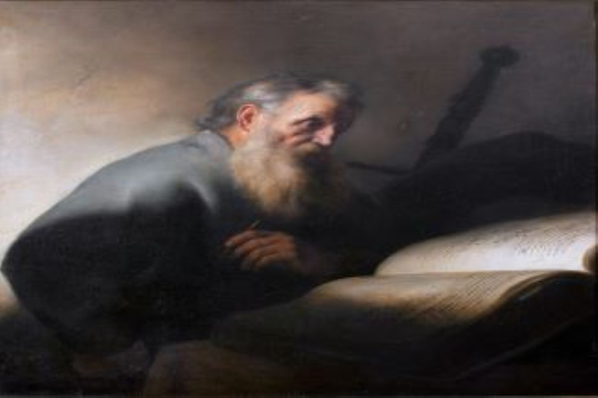Oil Painting of St Paul