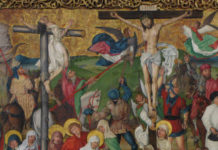 Detail from The Buhl Altarpiece