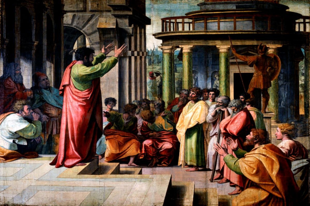 Raphael, St Paul Preaching in Athens