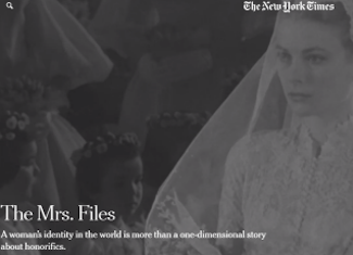 The Mrs. Files Webpage