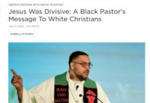 Jesus Was Divisive, Article Webpage