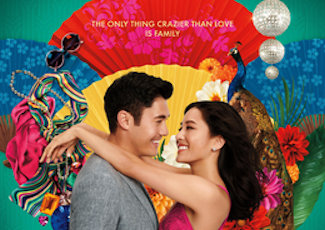 Detail from Crazy Rich Asians Movie Poster